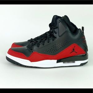 Nike Air Jordan SC-3 Black/Gym Red Sz 10.5